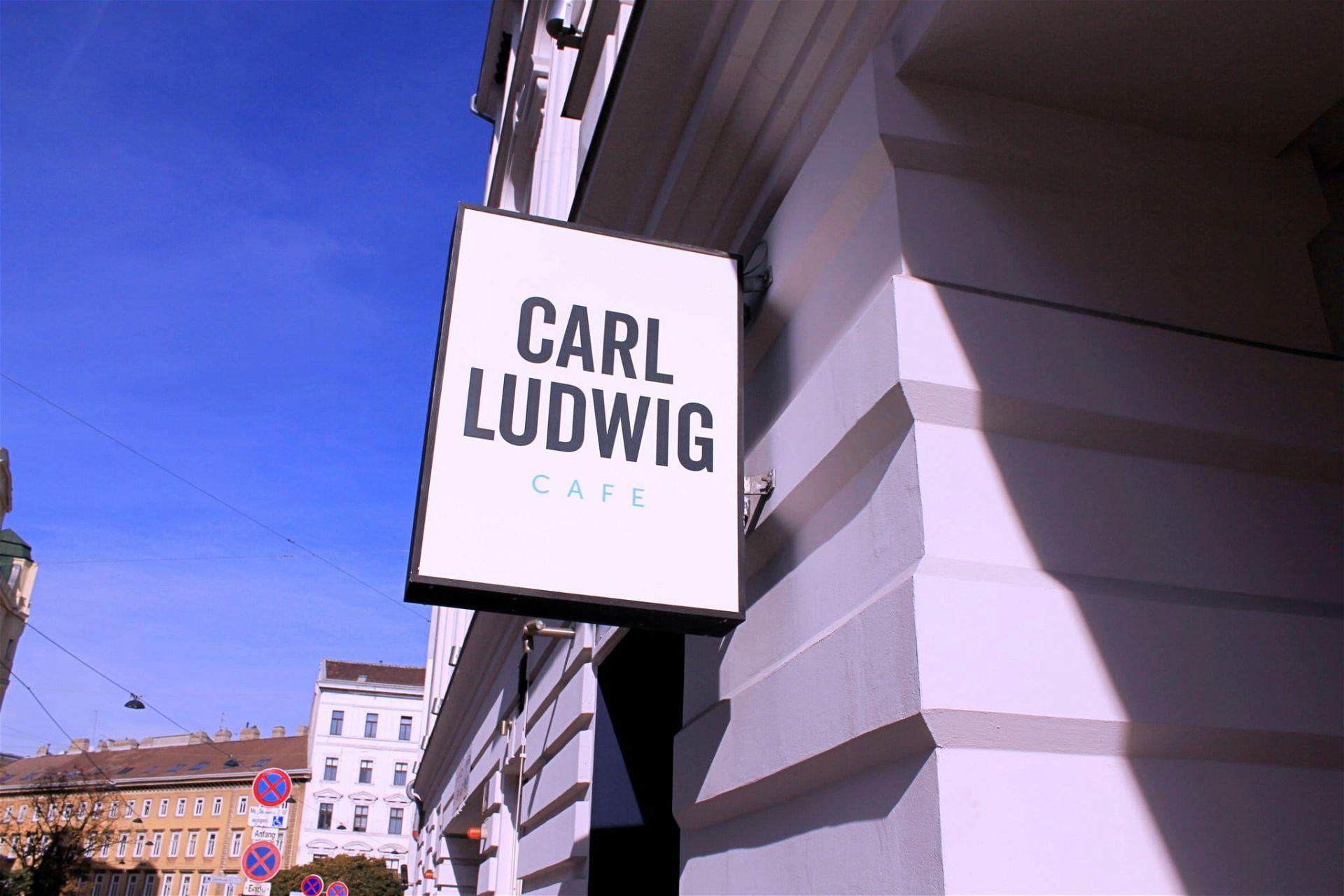 Eingangsschild Carl Ludwig