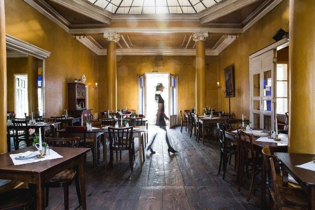 Schnitzel in Wien: Concordia Schlössl innen