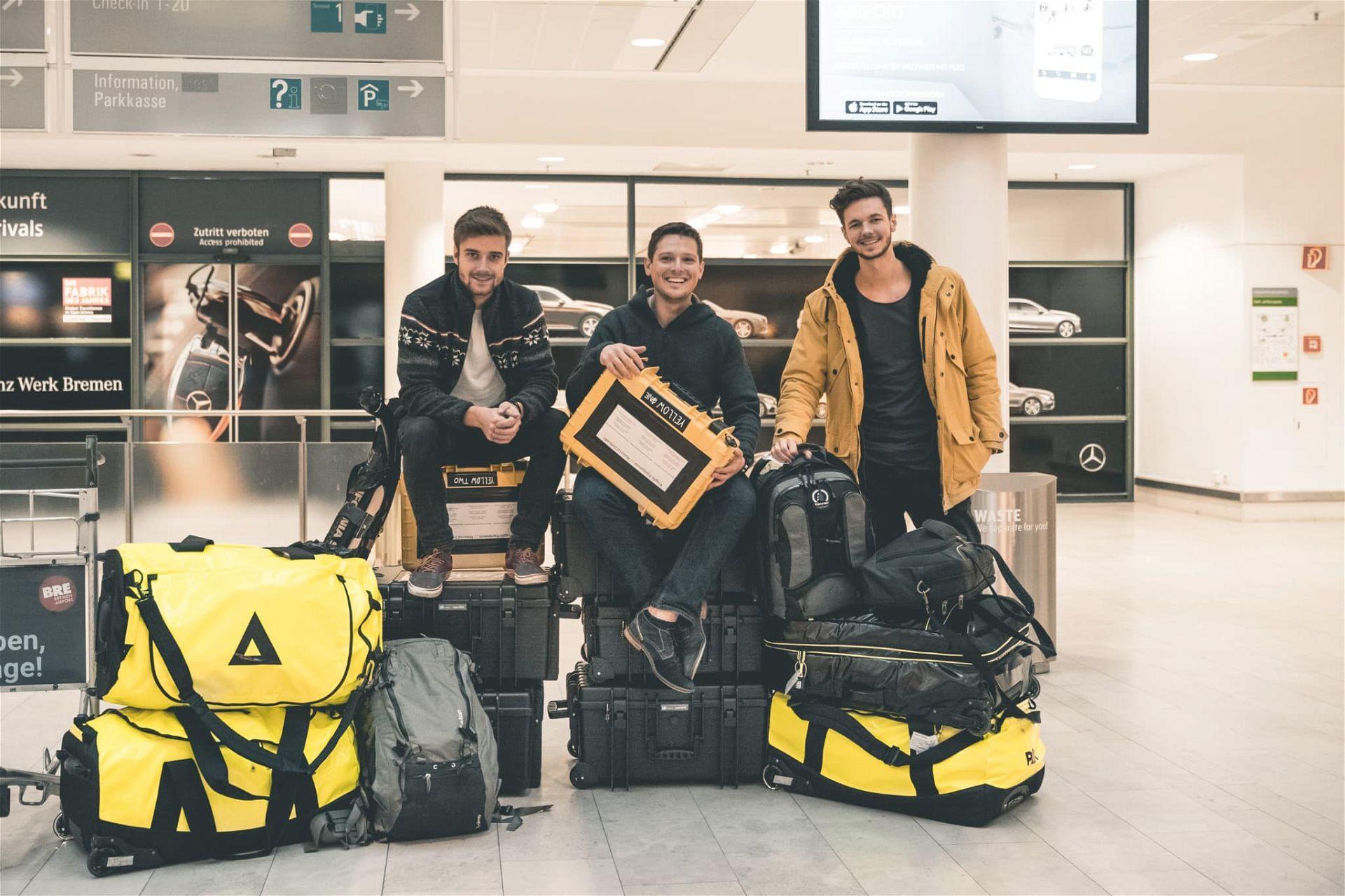 Projekt Antarktis Abreise Bremen