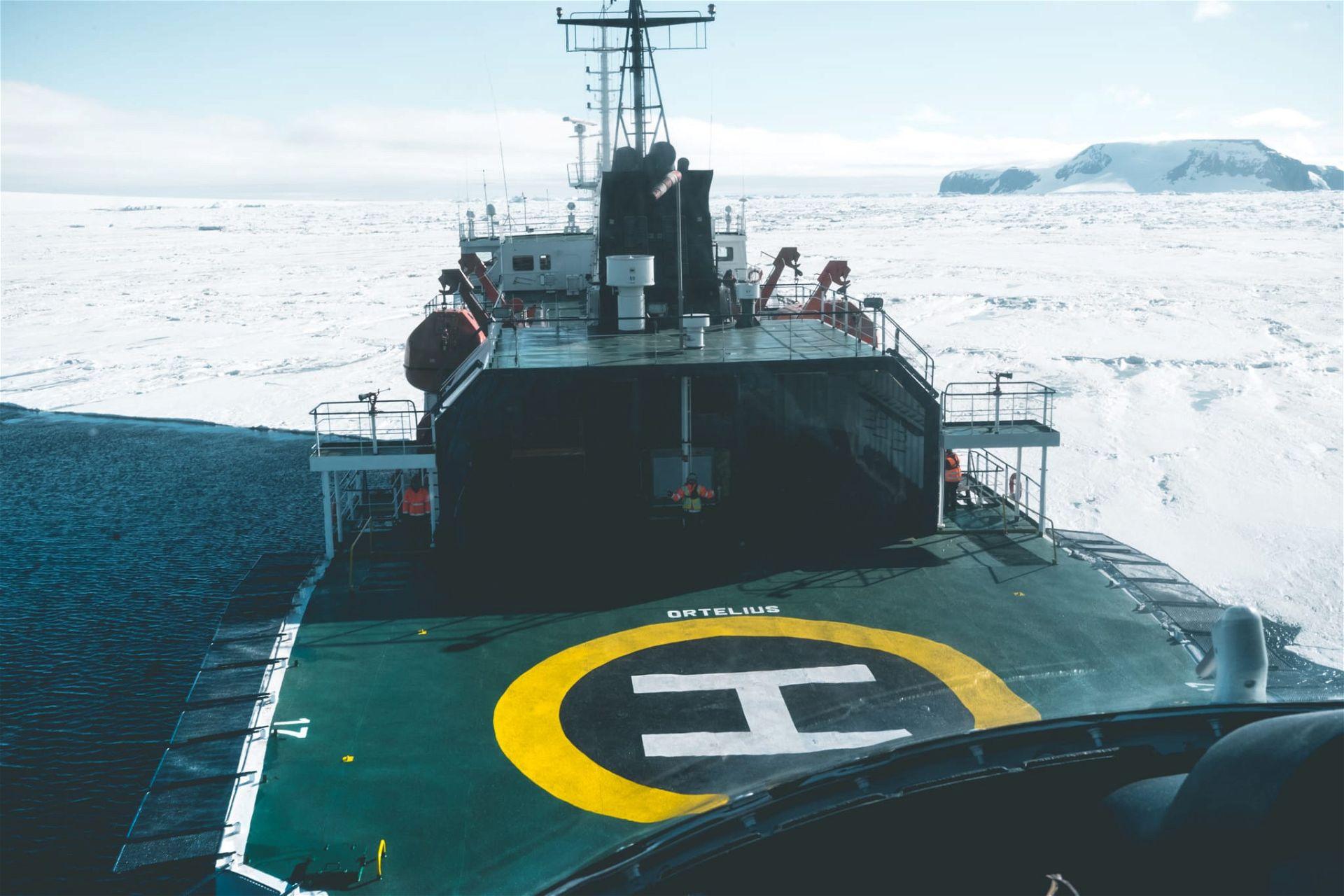 Expeditionsschiff Ortelius