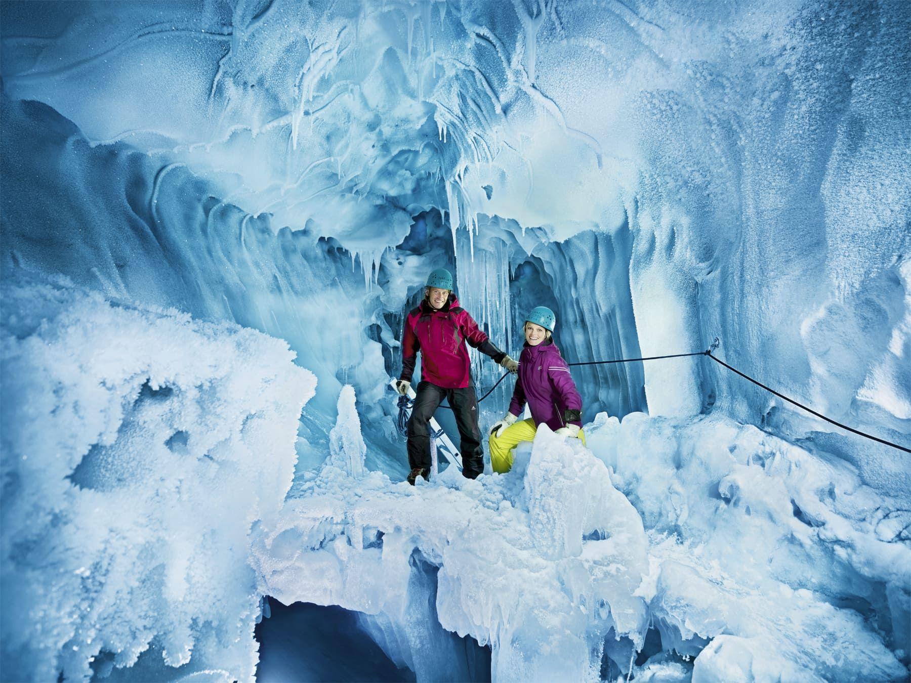 Eis Palast Hintertuxer Gletscher