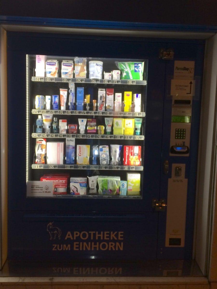 Automat Apotheke zum Einhorn
