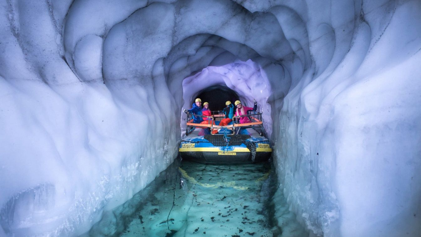 Gletschersee Bootstour