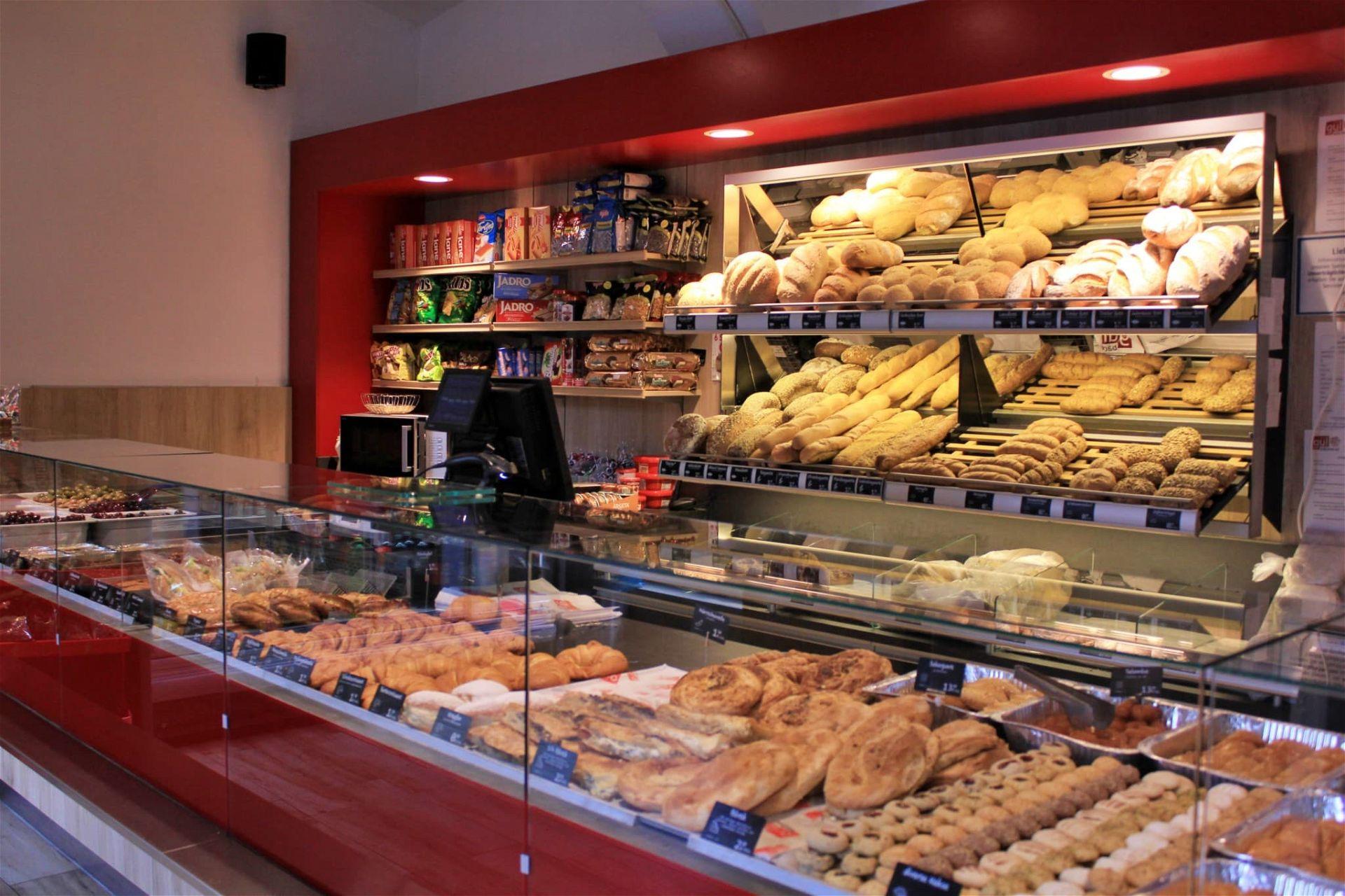 Bäckerei Gül Wienzeile Innenansicht