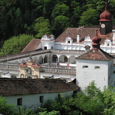 Gartenschloss Herberstein Ansicht