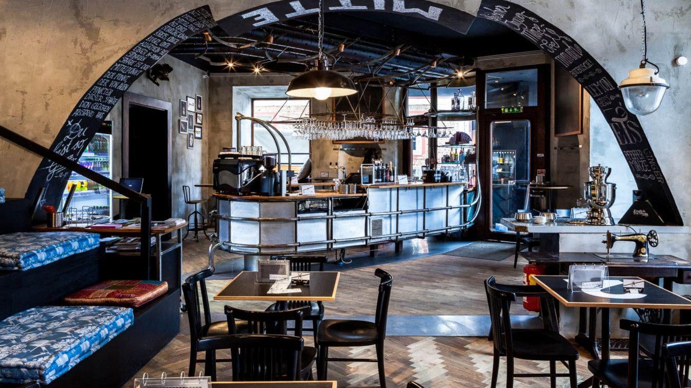 Cafe Mitte: Innenausstattung