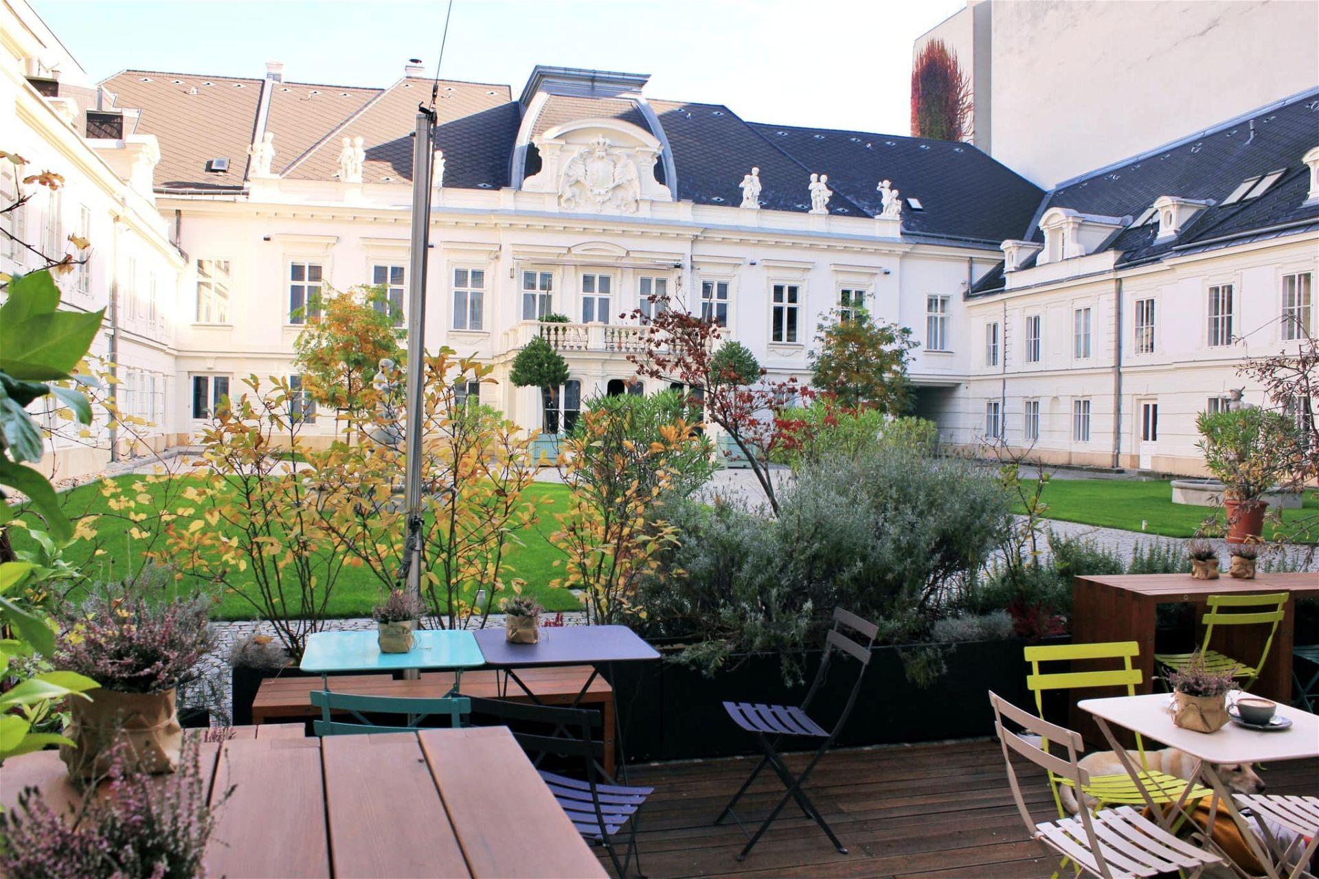 Gastgarten Carl Ludwig Café