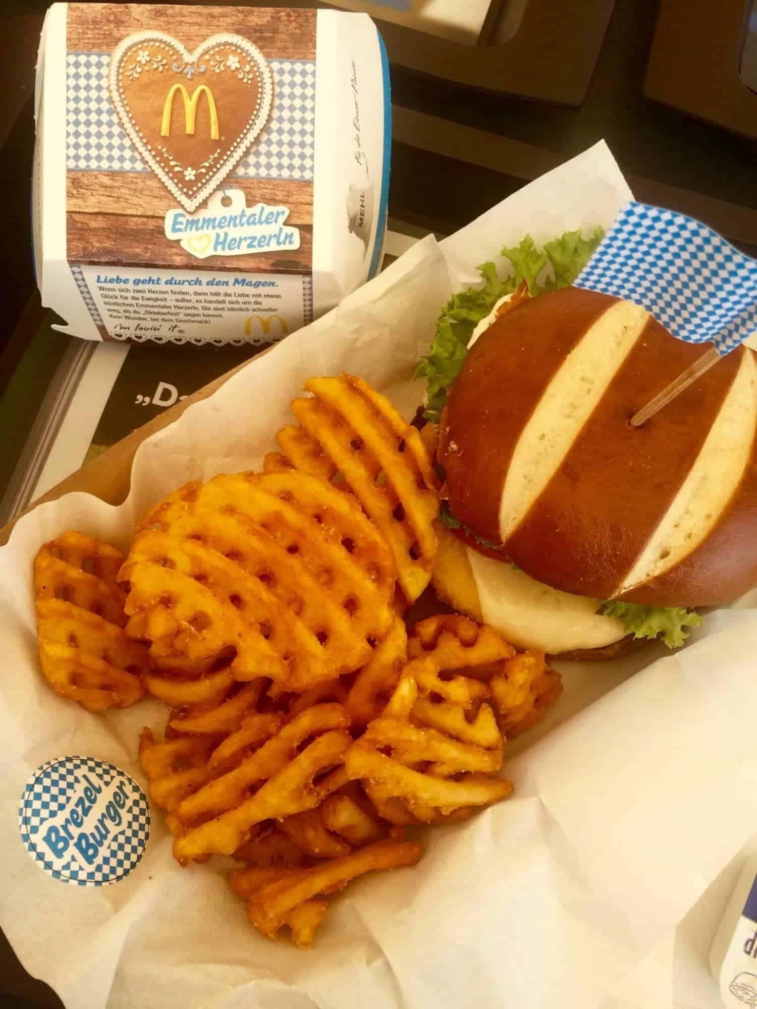 Brezel Burger