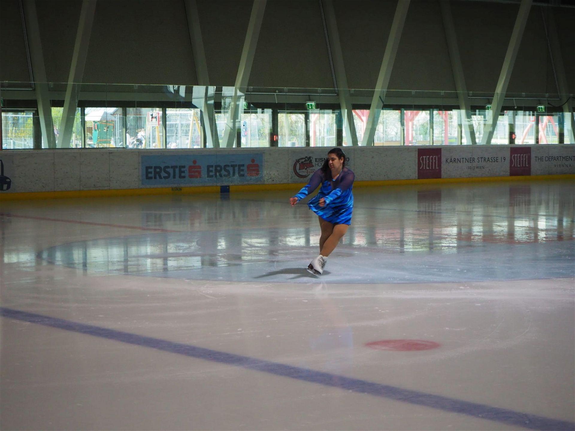 Special Olympics Eiskunstlauf österreich
