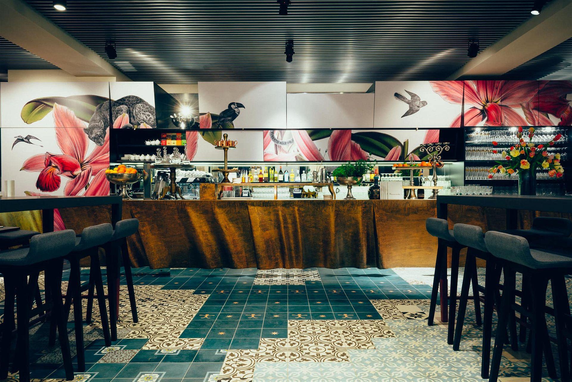 Bar des Café Promenade