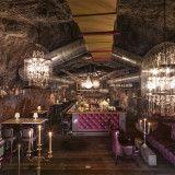 Die Bar Stollen 1930 mit ihrer extravaganten Einrichtung. (c) Auracher Löchl