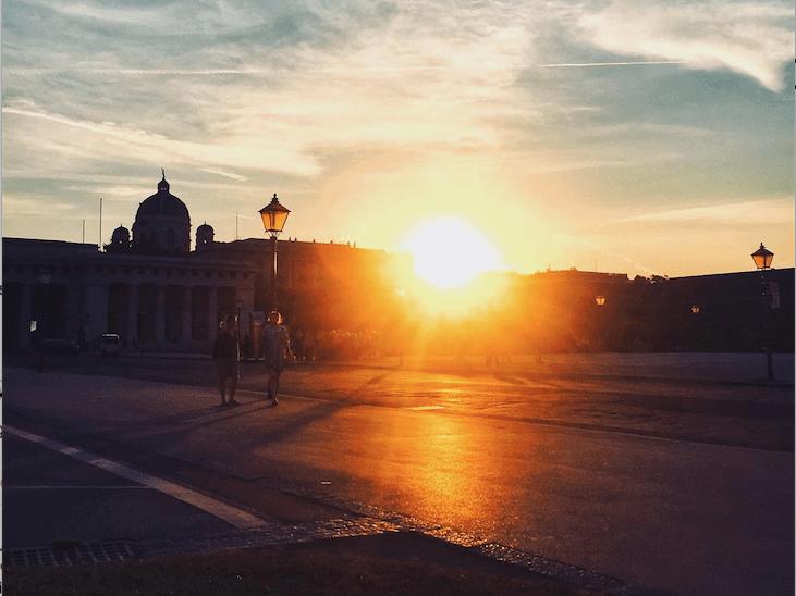 Paare in Wien