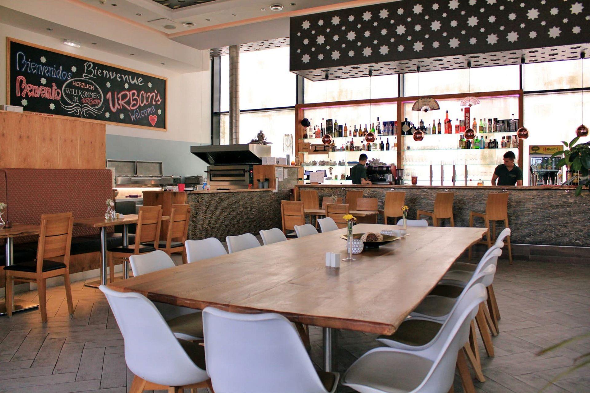 Urban's Lounge Gastraum