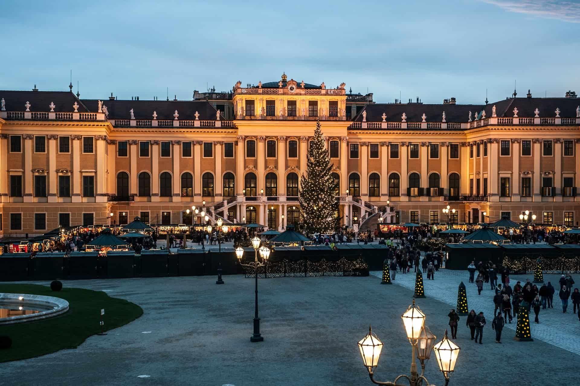 schönbrunn weihnachtsmarkt 1