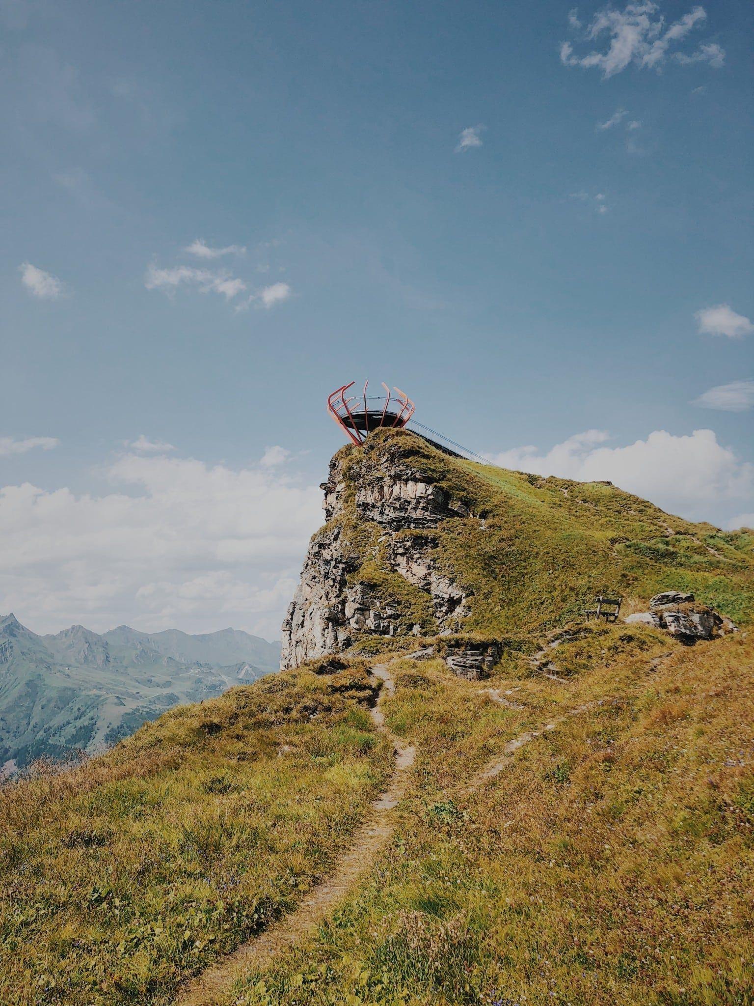 Aussichtsplattform Stubnerkogel Gastein