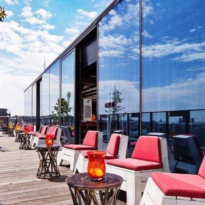 Rooftop-Bar 25hours Hotel