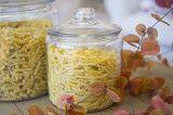 Glasbehälter mit Pasta