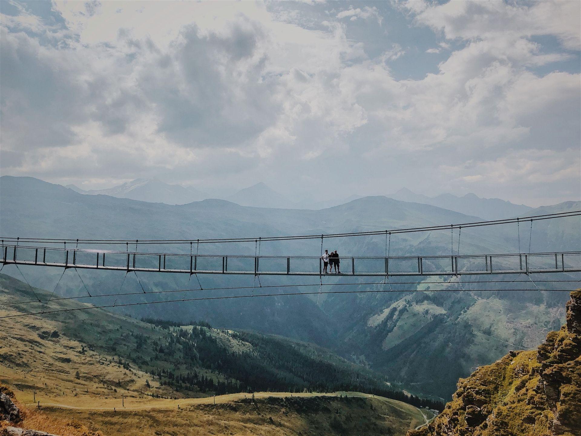 Hängebrücke Stubnerkogel Gastein