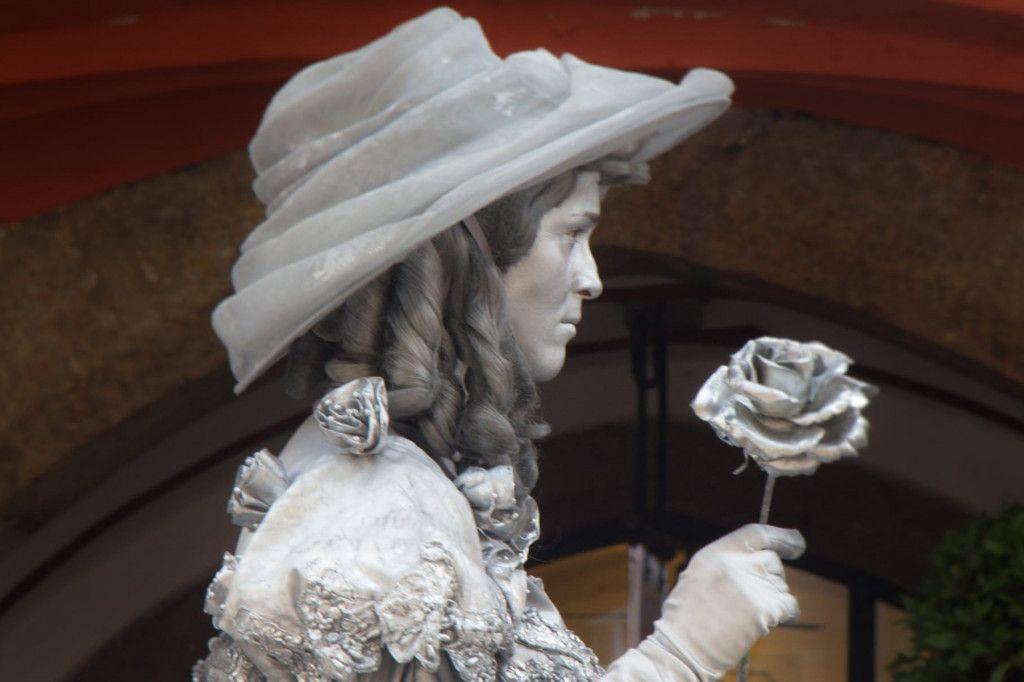 Silberne Frau Innsbruck