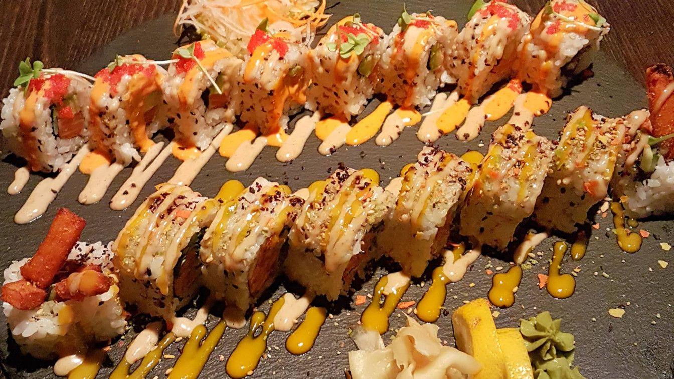 kitchA ausgefallenes Sushi in Wien