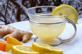 Ingwer Tee mit Zitrone