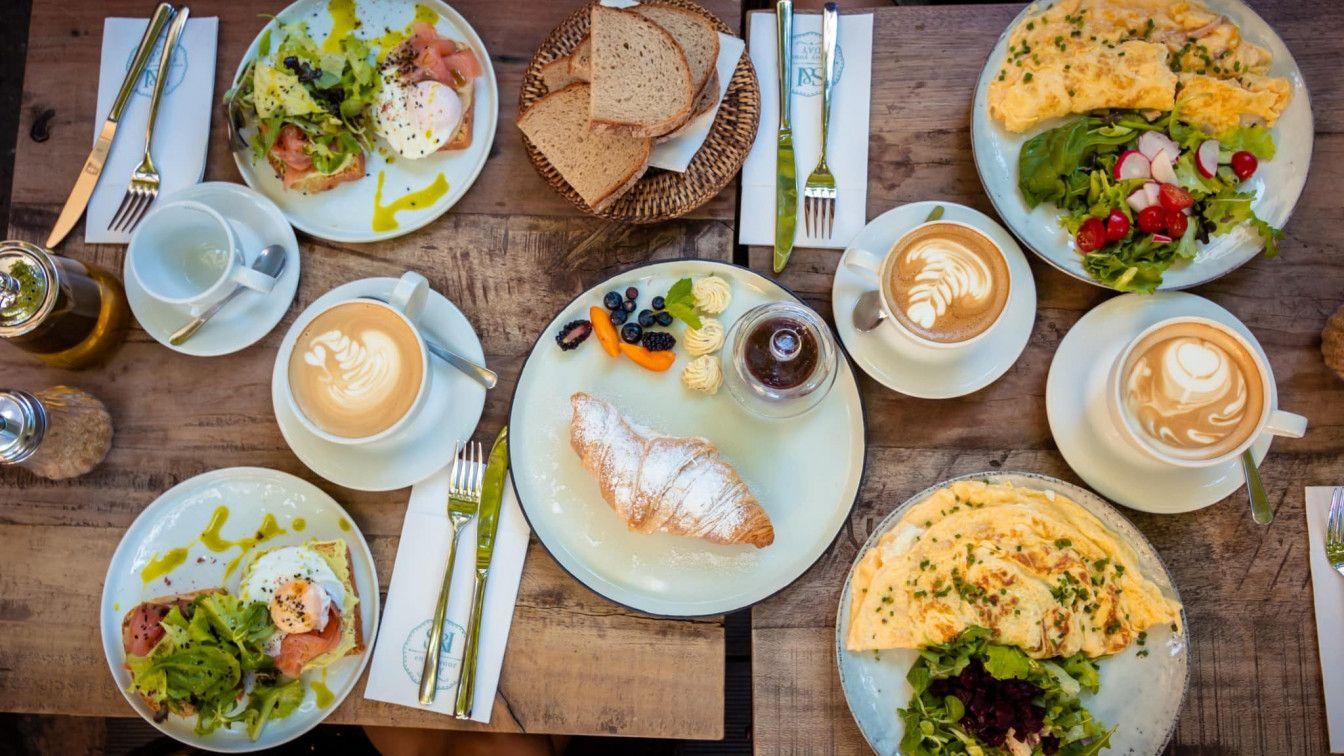 Frühstücken in Graz