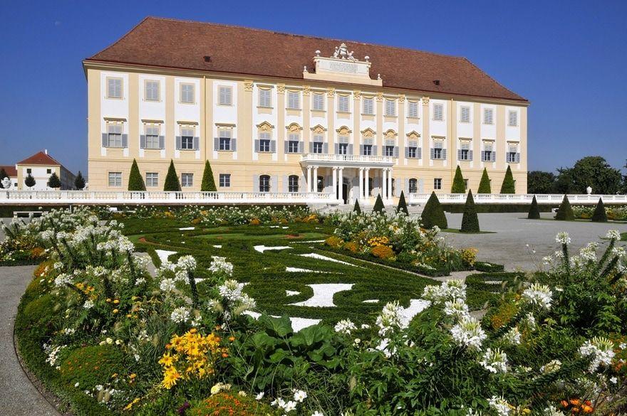 schlossgärten in österreich