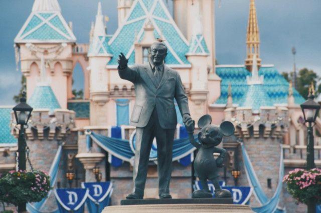 Walt disney und mickey Mouse